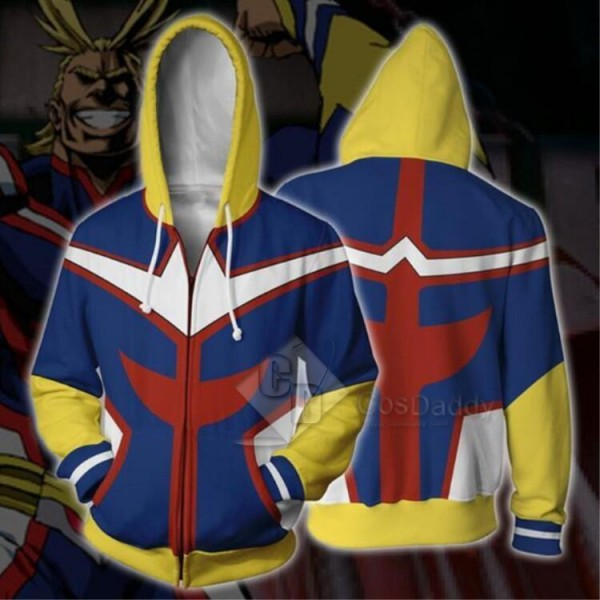 Boku No Hero Academia All Might 3D Printed Sweatsh...