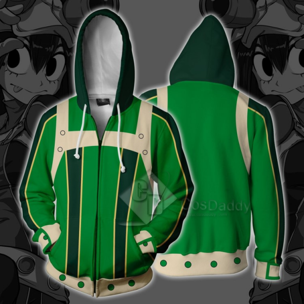 Boku no Hero Academia Tsuyu Asui 3D Printed Sweats...