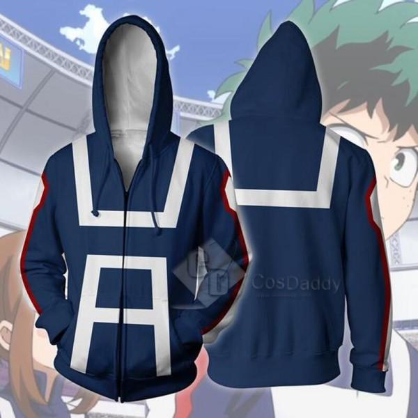 Boku no Hero Academia Izuku Midoriya 3D Printed Sweatshirt