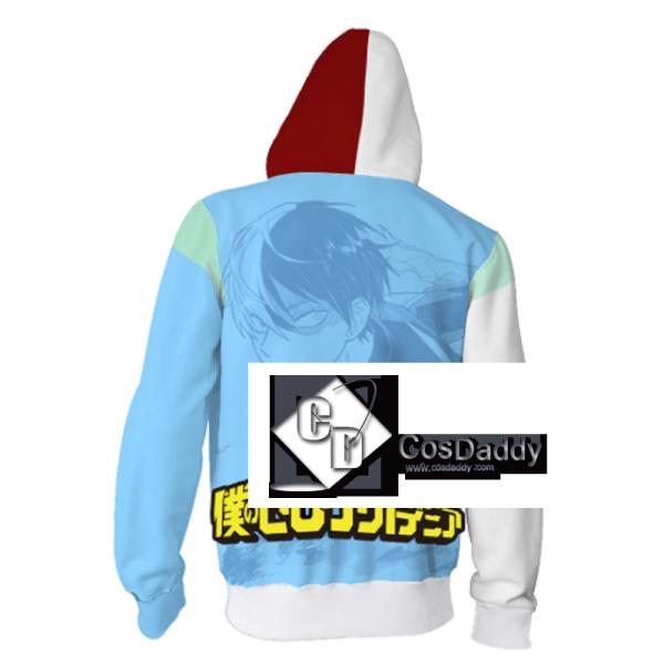 Boku no Hero Akademia 3D Printed Hoodie