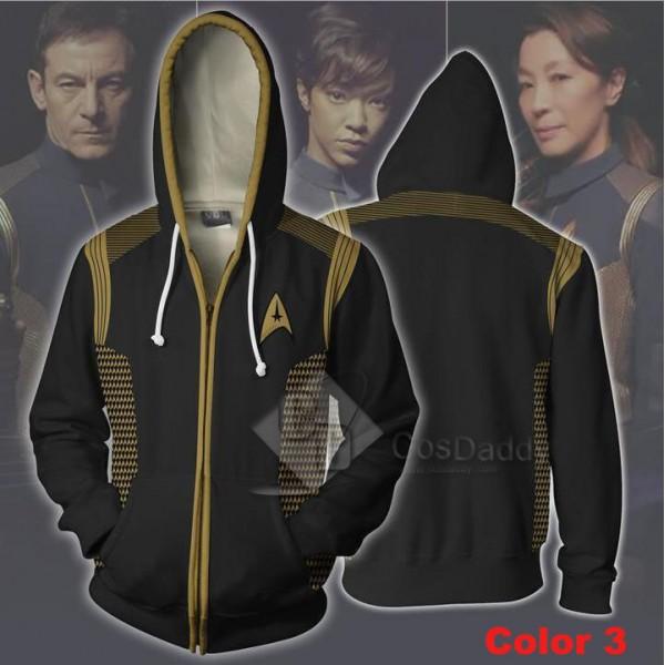 Star Trek  3D Printed Hoodie Zipper Sweatshirt