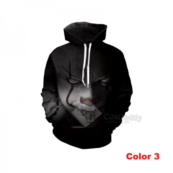 It Stephen King's It Series 3D Printed Hoodie