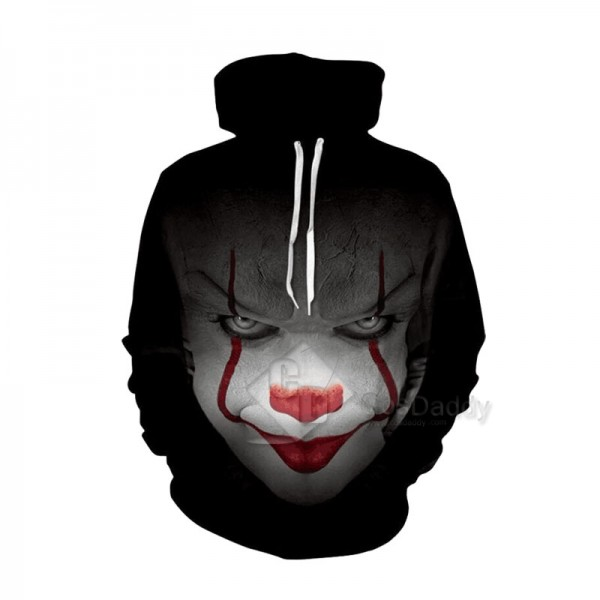 It Stephen King's It Series 3D Printed Hoodie Swea...