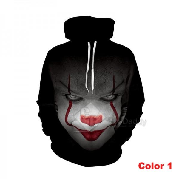 It Stephen King's It Series 3D Printed Hoodie Sweatshirt