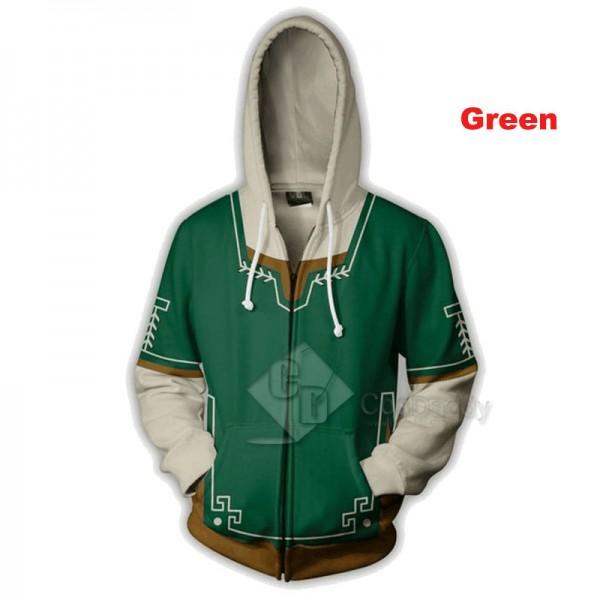 The Legend of Zelda Series 3D Printed Hoodie Sweatshirt