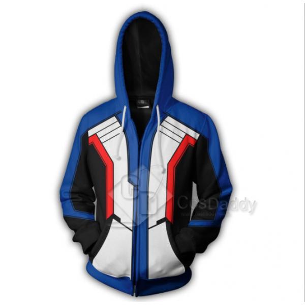 Overwatch OW SOLDIER 76 Jack Morrison 3D Hoodie