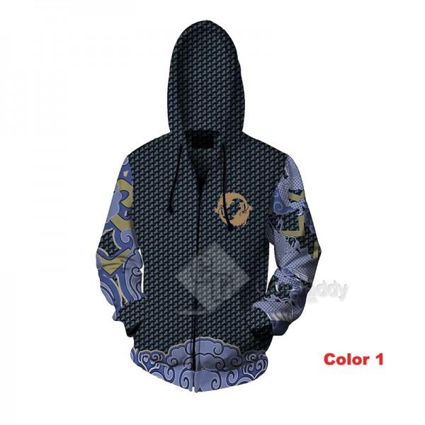 Overwatch OW Hanzo Shimada 3D Printed Hoodie