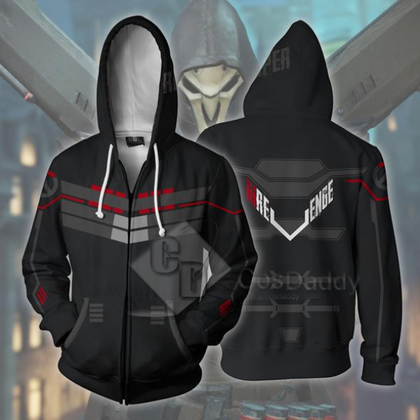 Overwatch OW BLEACH 3D Printed Hoodie Sweatshirt