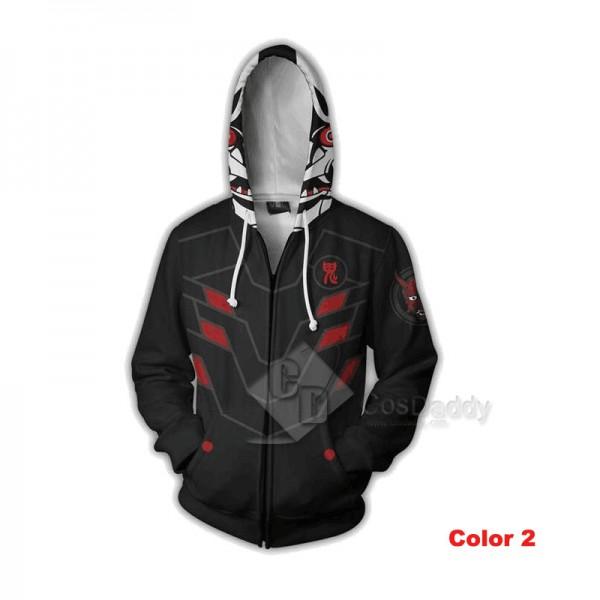 Overwatch OW BLEACH 3D Printed Hoodie Sweatshirt