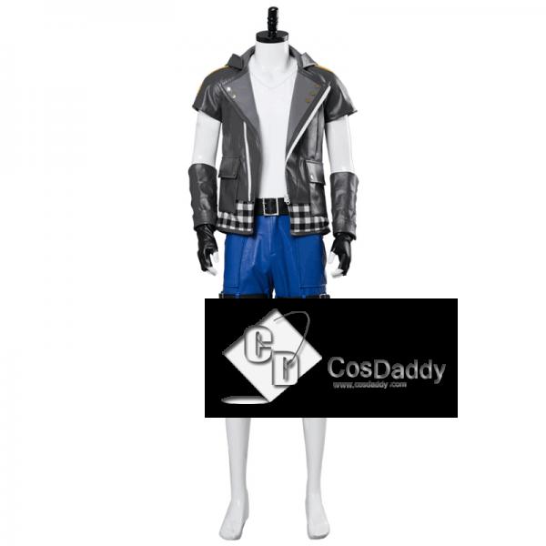 Kingdom Hearts III 3 Riku Cosplay Costume