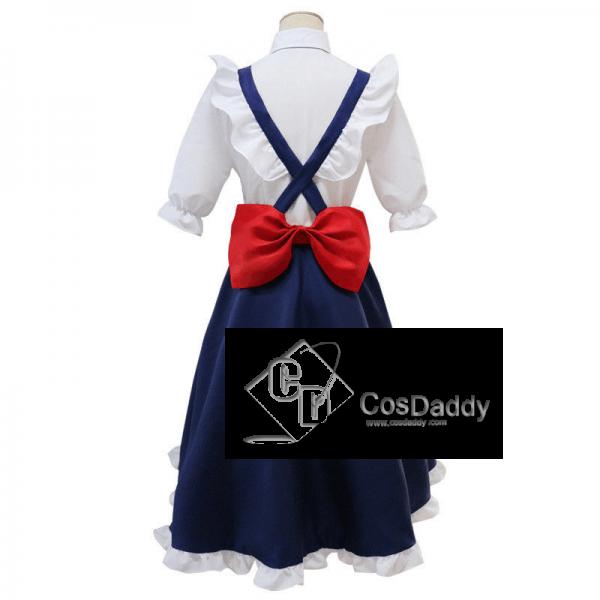 Miss Kobayashi's Dragon Maid Tohru Long Dress Cosplay Costume