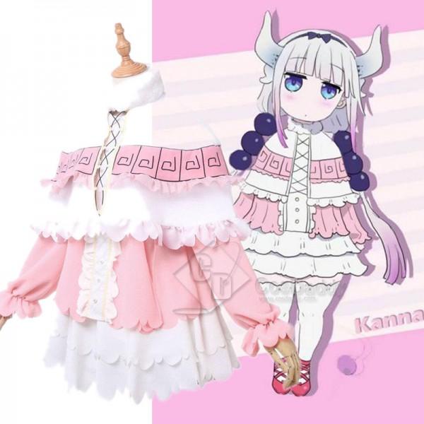 Miss Kobayashi's Dragon Maid Kanna Kamui Cosplay C...