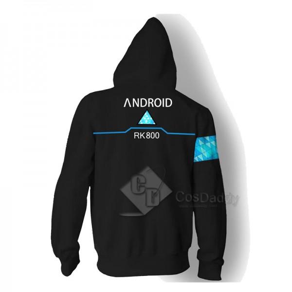 Detroit Become Human 3D Printed Hoodie Zipper Jacket