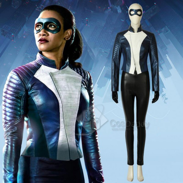 The Flash Season 5 Iris West Cosplay Costume