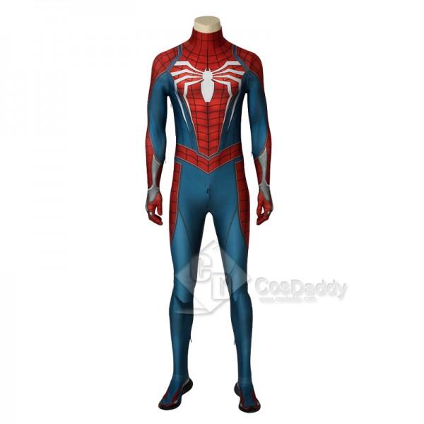 Spider Man Peter Benjamin Parker Jumpsuit Cosplay Costume