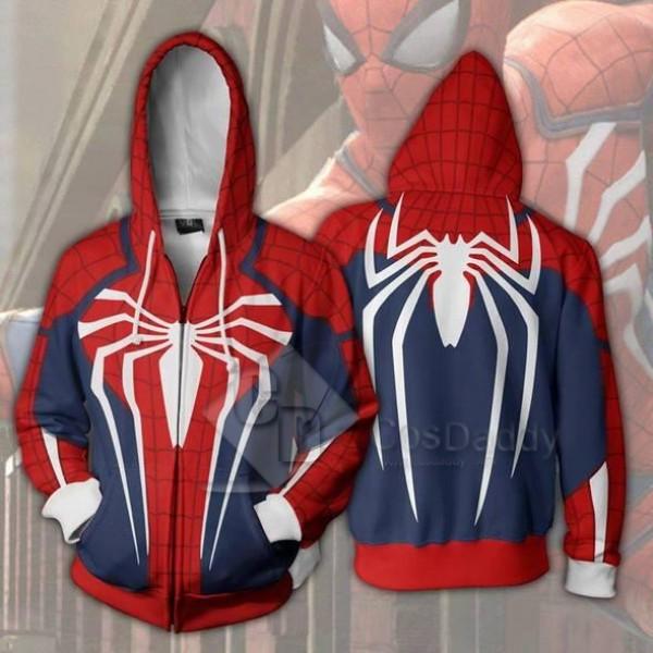 Spider-Man Peter Benjamin Parker 3D Printed Hoodie...