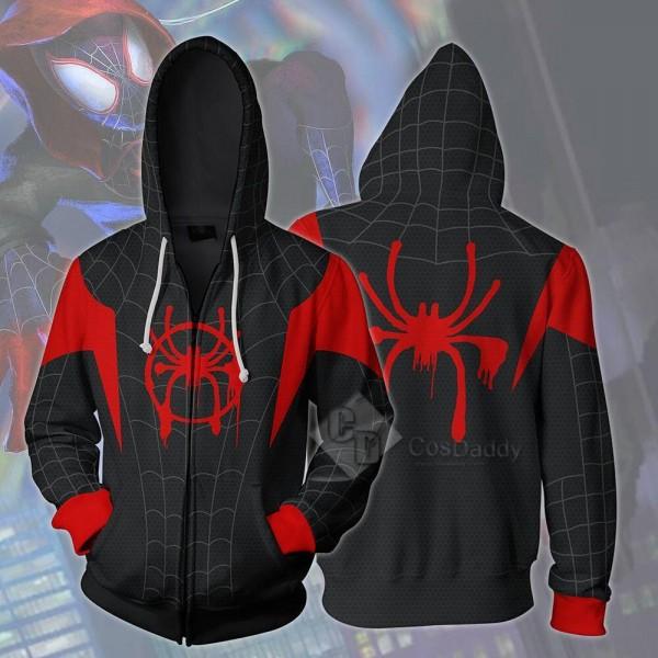 Spider-Man Peter Benjamin Parker 3D Printed Zipper Hoodie