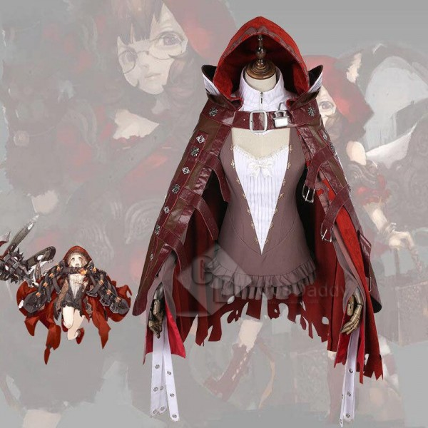 SINoALICE Red Riding Hood Cape Cosplay Costume