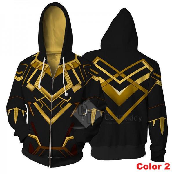 Black Panther Hoodie 3D Printed Sweatshirt
