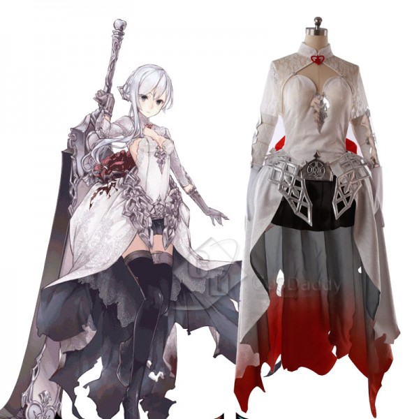 SINoALICE Snow White Dress Cosplay Costume