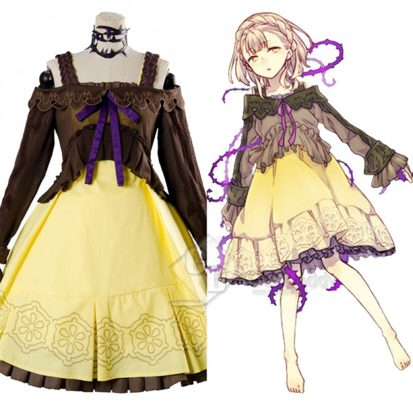 SINoALICE Briar Rose Sleeping Beauty Dress Cosplay...