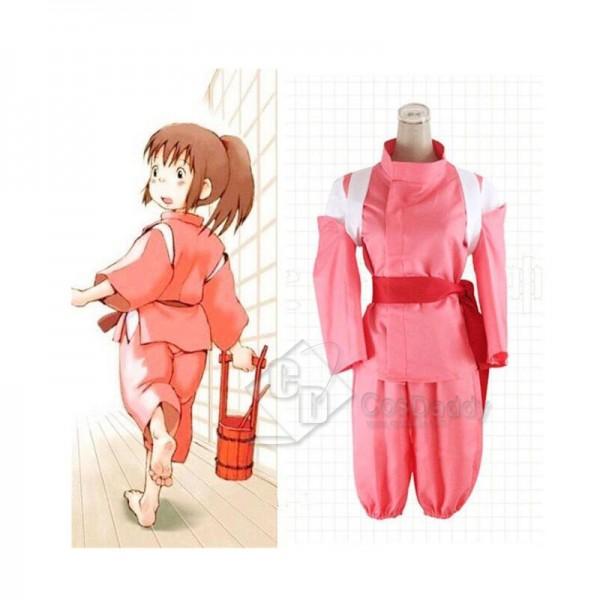 Spirited Away Ogino Chihiro Cosplay Costume