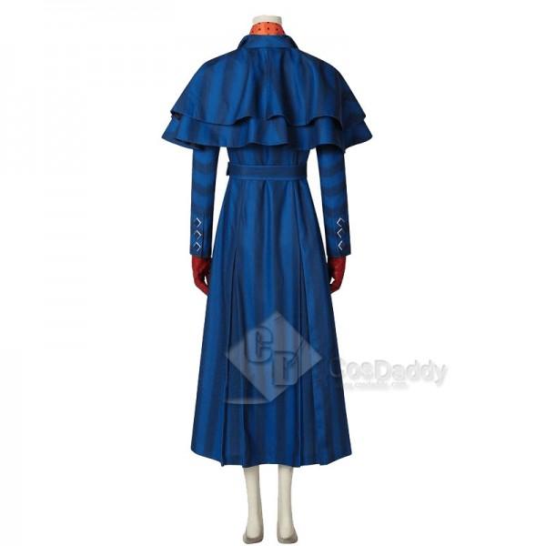 2018 Movie Mary Poppins Returns Mary Poppins 2 Mary Poppins Cosplay Costume