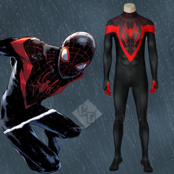 Ultimate Spider-Man Miles Morales Black Spider Man...