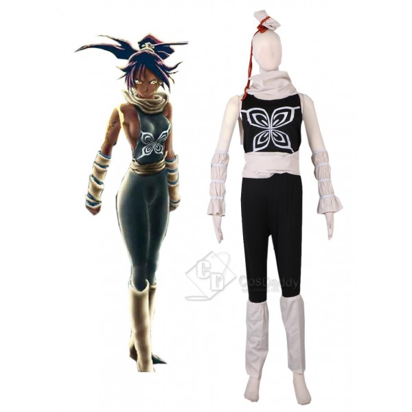 BLEACH Shihouin Yoruichi Fighting Uniform Jumpsuit...