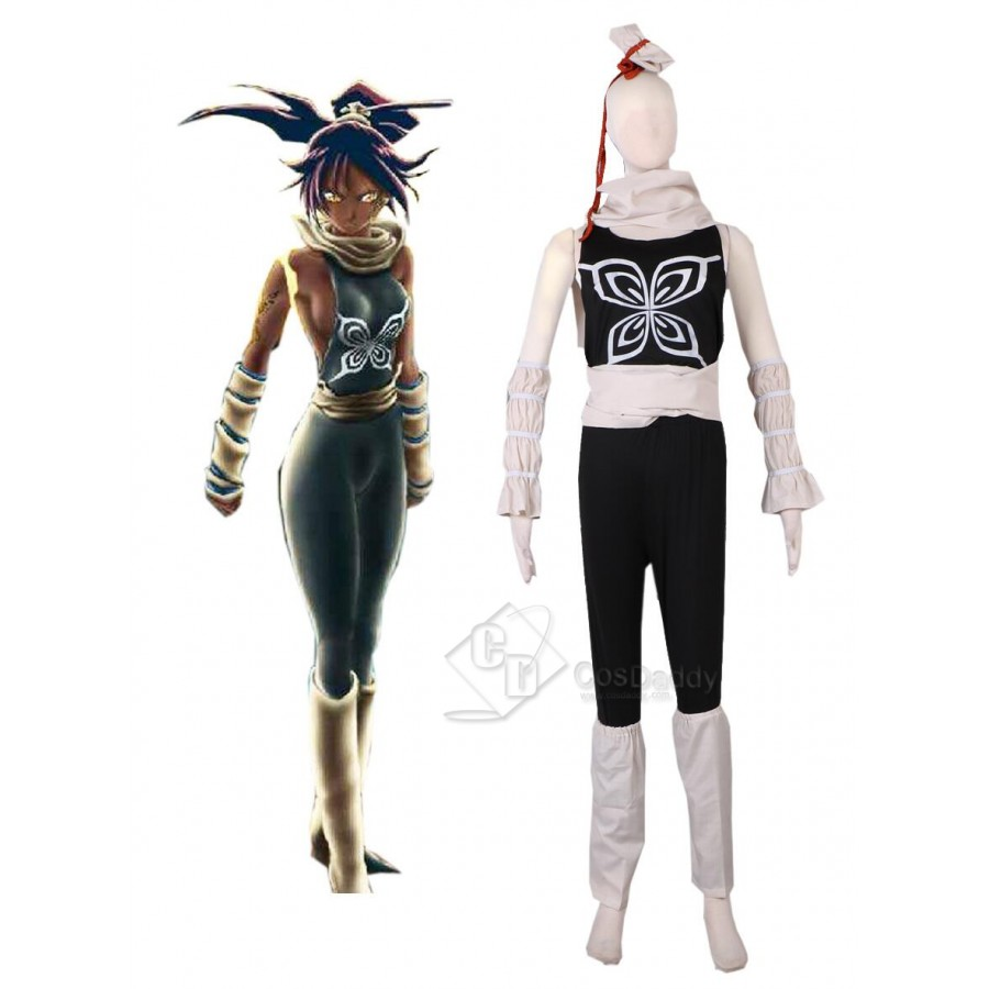 Bleach Cosplay Costume Shihouin Yoruichi 2nd Any Size