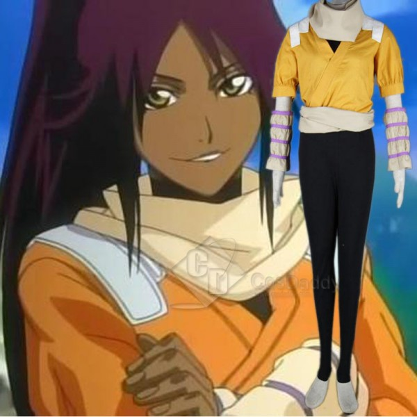 BLEACH Shihouin Yoruichi Cosplay Costume