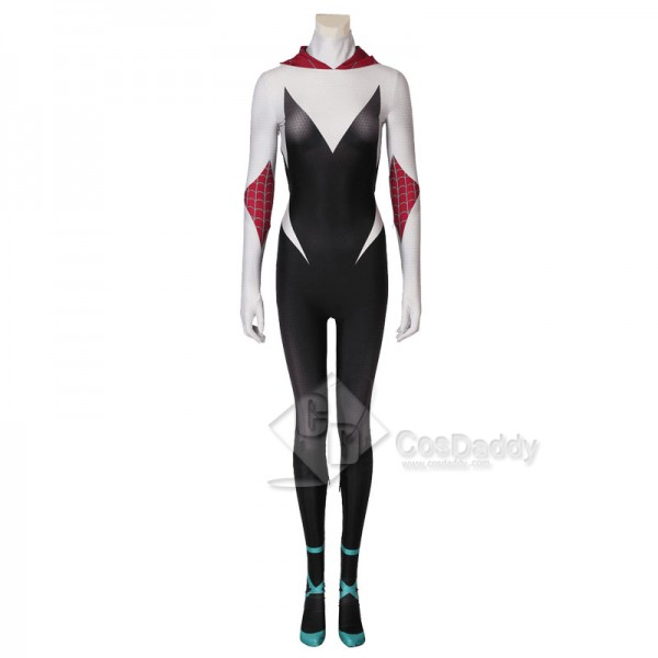 Spider-Man Into the Spider-Verse Spiderman Gwen Stacy Cosplay Costume
