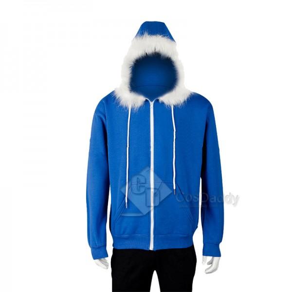 Undertale Sans Jacket Hoodie Sweatshirt Cosplay Co...