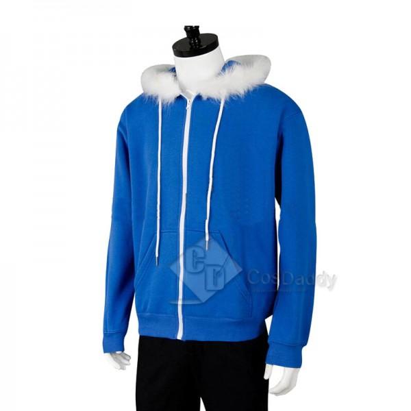 Undertale Sans Jacket Hoodie Sweatshirt Cosplay Costume