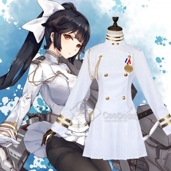Azur Lane Takao and Atago Uniform Cosplay Costume