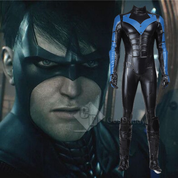 DC Superhero Nightwing Cosplay Costume