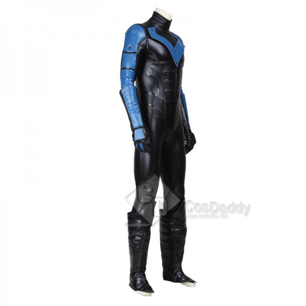 DC Superhero Nightwing Cosplay Costume