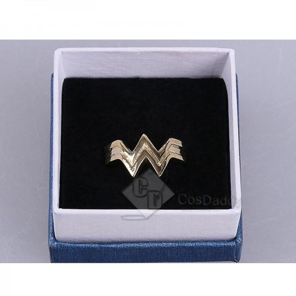 DC Wonder Woman Accessories Movie Props Zinc Alloy Ring