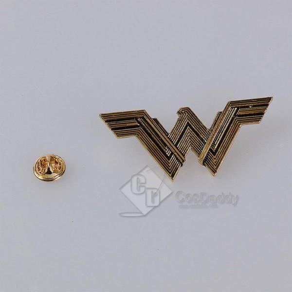 DC Wonder Woman Accessories Movie Props Zinc Alloy Badge