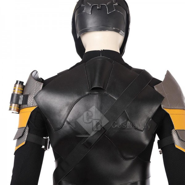DC Deathstroke Terminator Slade Joseph Wilson Cosplay Costume