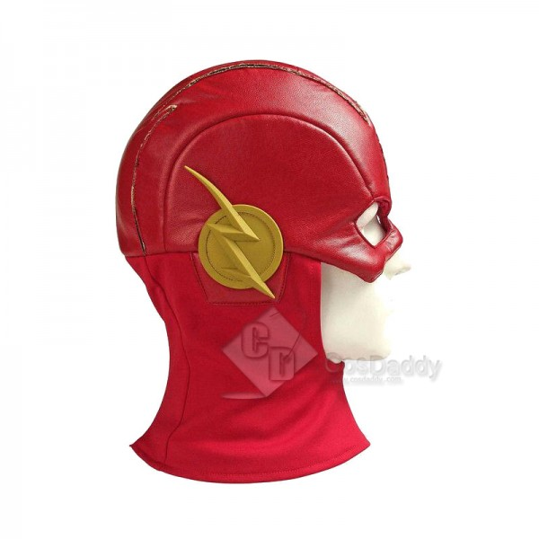 The Flash Season 5 Barry Allen The Flash Jumpsuit Mask Cosplay Costume