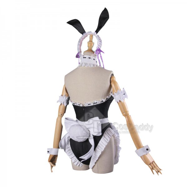 Re:Life in a different world from zero Rem Ram Sexy Bunny Girl Dress Cosplay Costume
