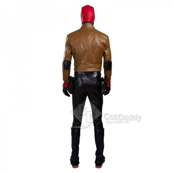 DC Comics Batman Red Hood Robin Jason Todd Cosplay Costume