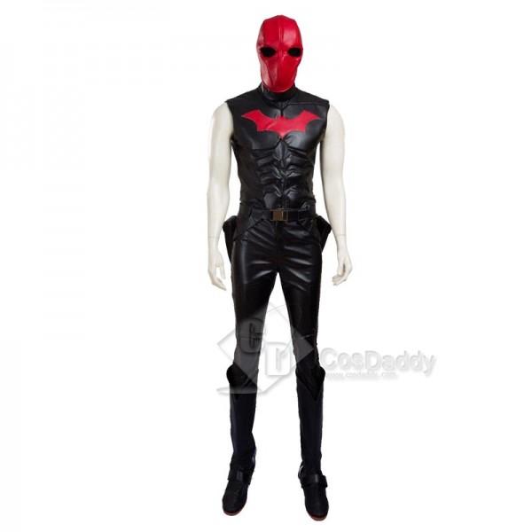 DC Comics Batman Red Hood Robin Jason Todd Cosplay Costume