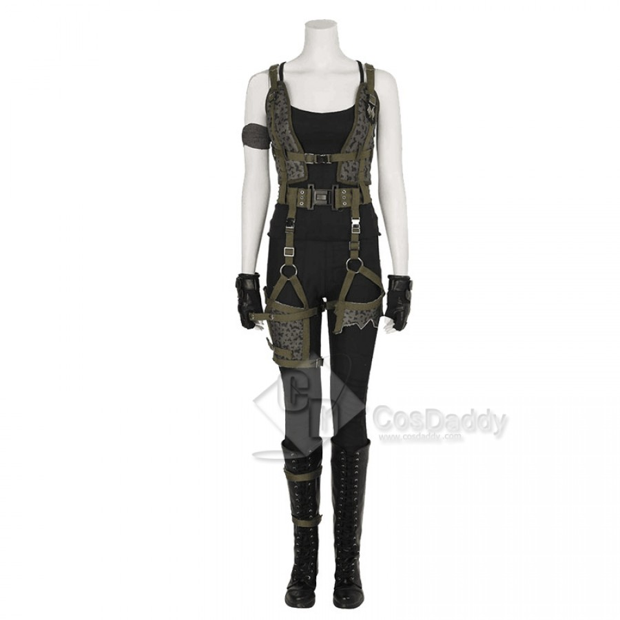 Resident Evil 6 The Final Chapter Alice Cosplay Costume