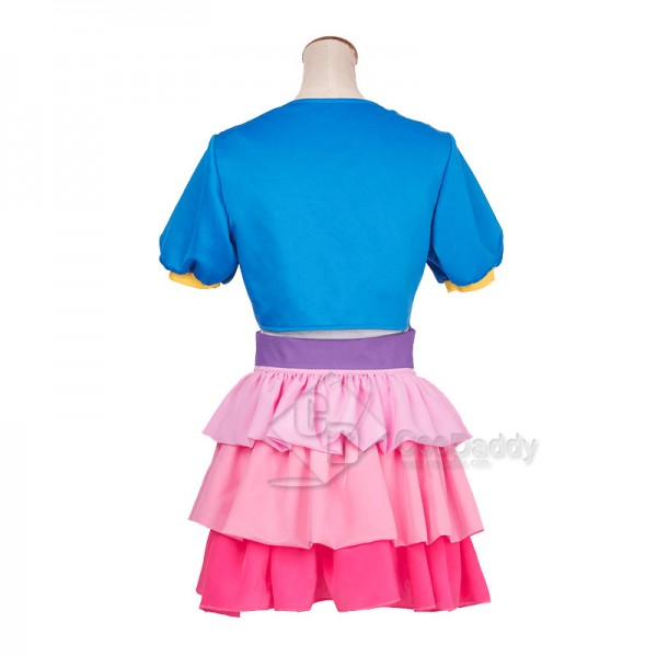 My Little Pony: The Movie Pinkie Pie Jacket Dress Cosplay Costume