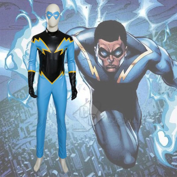 Justice League DC Comics Superhero Black Lightning...
