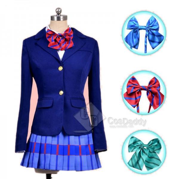 LoveLive Love Live Honoka Kousaka Girls School Uniform Suit Blazer Skirt Cosplay Costume