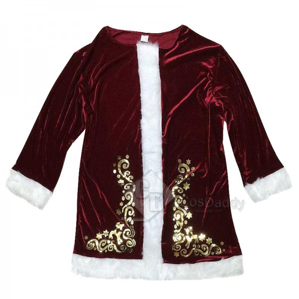 Men's Christmas Santa Claus Party Cosplay Costume