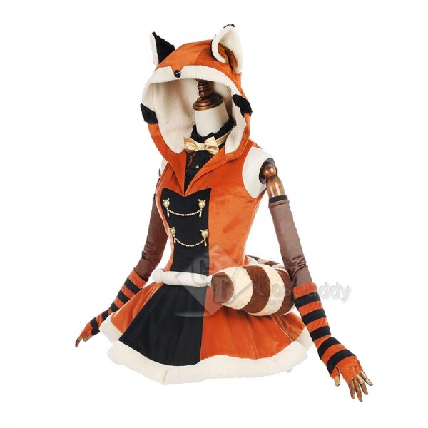 LoveLive Love Live MINAMI KOTORI Hooded Dress Cosplay Costume
